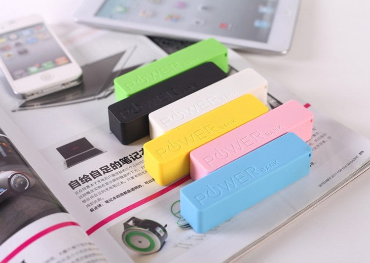 2015 New Arrival Fast Charging Professional Factory Price For Mobile Wholesale Portable 2600mah Power Bank
