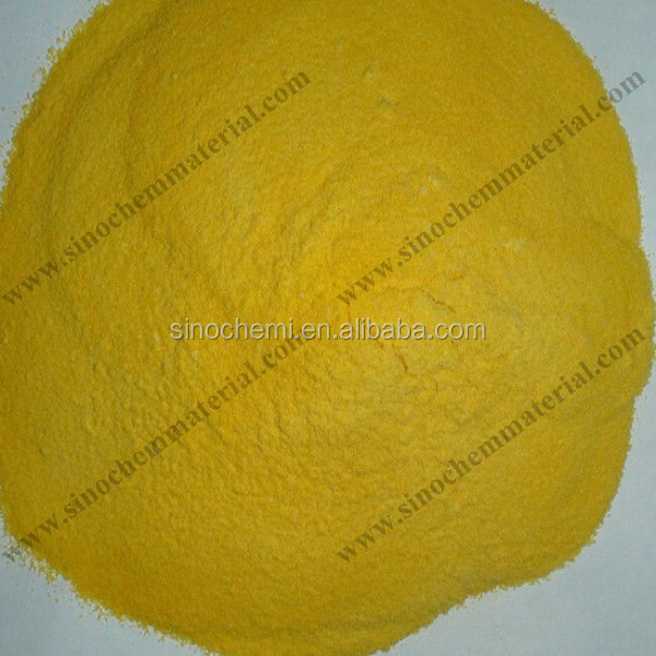 Light yellow powder poly aluminium chloride msds
