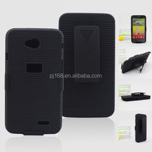 new product hard case holster kickstand belt clip case for Huawei Pillar M615 Pinnacle M635