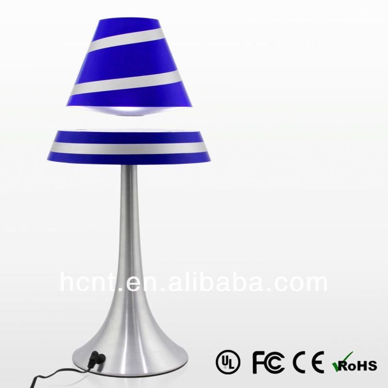 New Creation ! Magnetic Levitating Reading Lamp, usb cartoon touch lamp