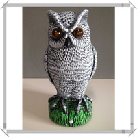 Alibaba professional Pest Garden Decoration owl repeller