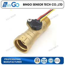 G1/2 Male Thread Brass Hall Water Flow Sensor 1.5-30L/min