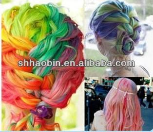 цвет волос мел