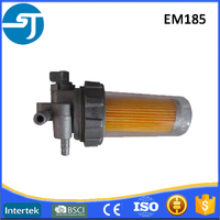 Engine parts plastic diesel fuel filter element