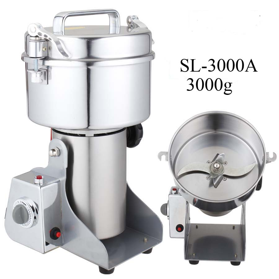3000G Household multi-function industrial Spice Grinder /flour mill /home use grains grinder for grain