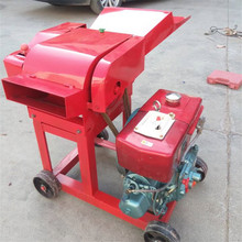 Diesel engine 0.4 ton per hour chaff cutter machine for straw cutting