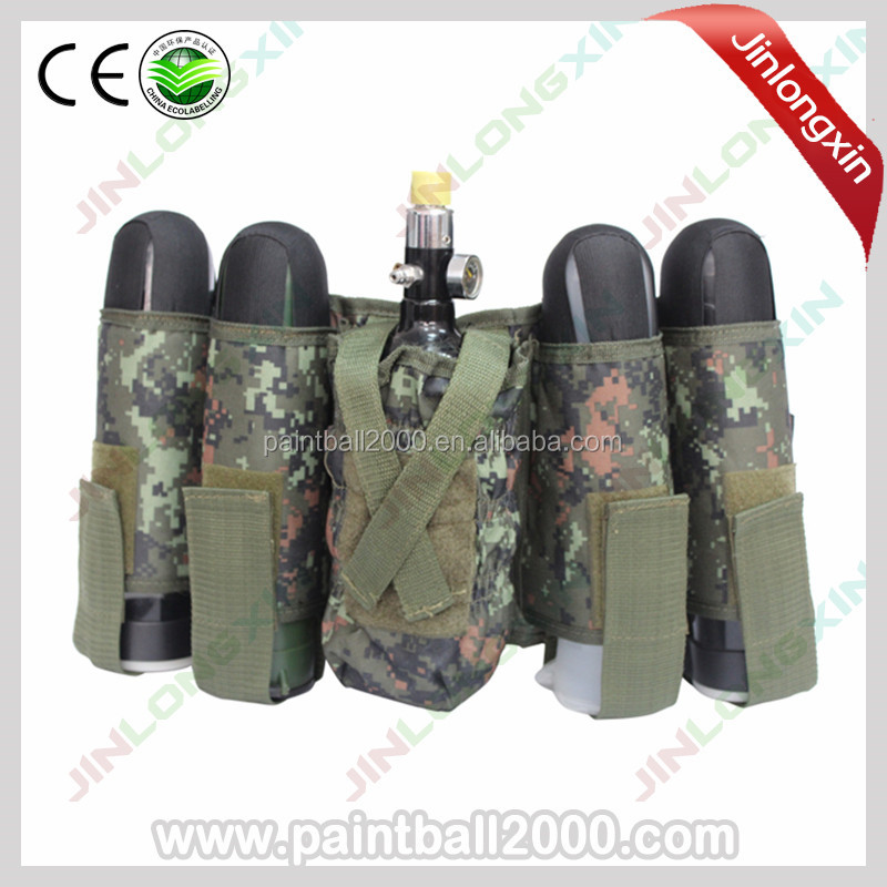 Paintball 4+1 Harness Battle Pack