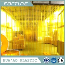 strip PVC plastic decorative door curtain