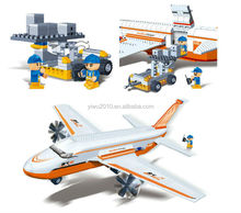 Building Block cargo plane 660pcs Compatible with Brand toys