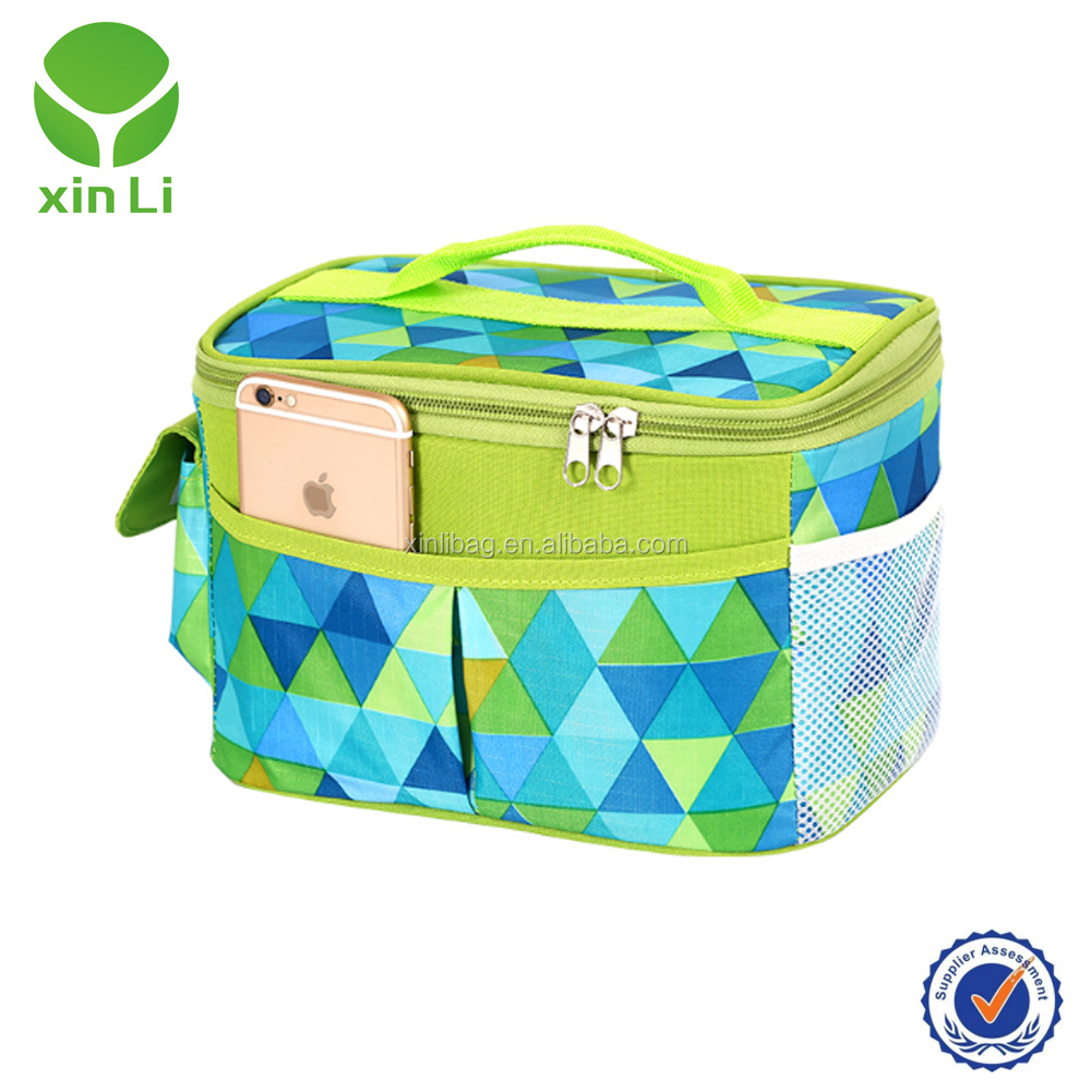 Large Insulated Lunch Tote Bag Cooler Box