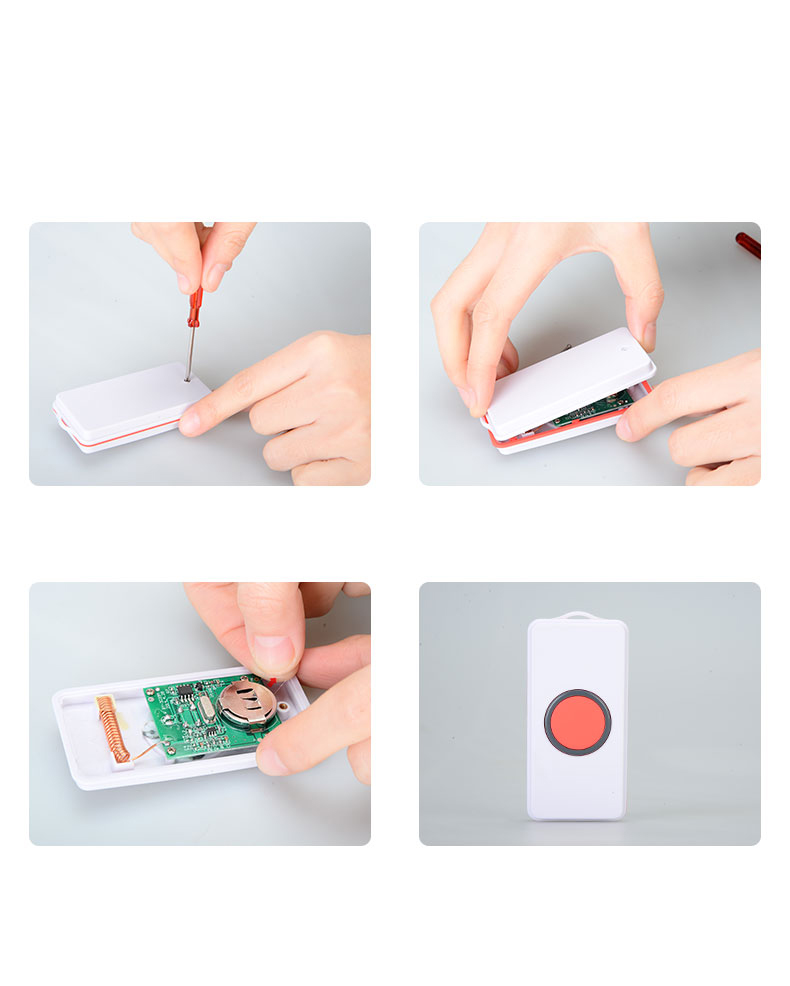 New Wireless SOS Panic Button Emergency Calling Alarm System for Elderly Children and