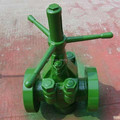 API 6A Flanged Connection Demco Mud Gate Valve