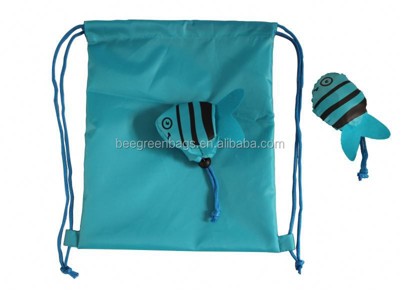 New Design 190T Polyester Bag Drawstring with Animal Design Pouch