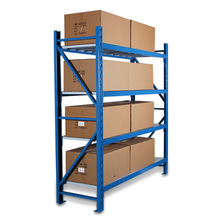 factory cheap price 4 layer metal warehouse storage shelving rack