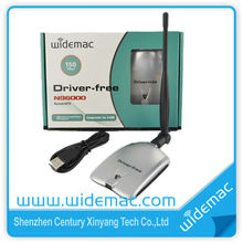 150Mbps driver wireless adapter; Driver free high power wireless adapter