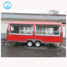 Car For Fast Gourmet Popcorn Camping Kitchen Caravan / Mover Cheap Catering Food Cart With Ce Camp Trailer Forward