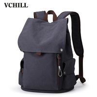 Customized Fashion Leisure Canvas Backpack School