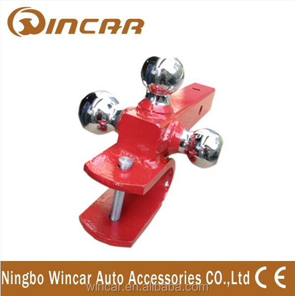 Car Hitch Mount With Three Ball