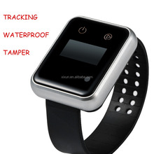 gps watch tracker for senior citizen Factory free tracking systerm with tracking APP