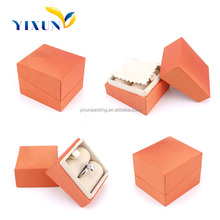 art paper+grey board/leather/velvet etc.Jewelry Boxes Material paper jewellery box