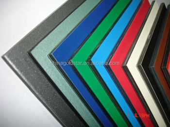 Polyester Coated Aluminum Composite Panel / Interior Wall Paneling