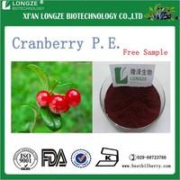 Cranberry Extract Powder50% PAC Vaccinium Macrocarpon L Proanthocyanidins