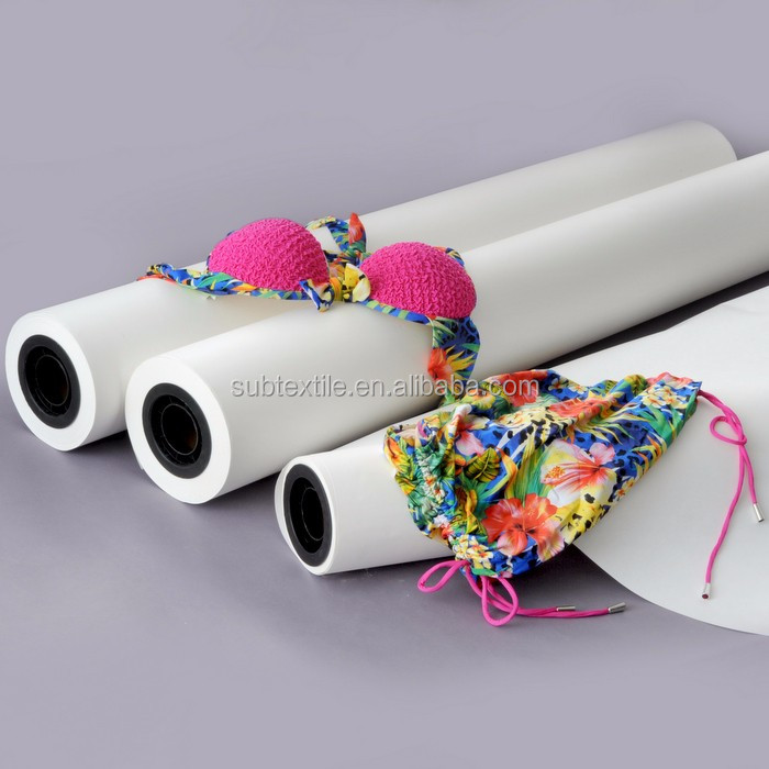 0.9m 0.6m 1.1m width 100gsm Hi-sticky dye sublimation transfer paper for sportswear on MIMAKI,EPSON
