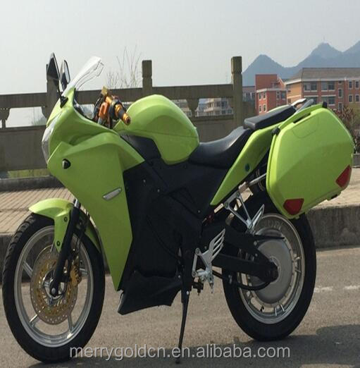 Very high power electric motorcycle 72V 6000W with lithium battery