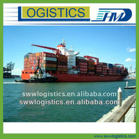 Door to door sea shipment from China to Surabaya Indonesia