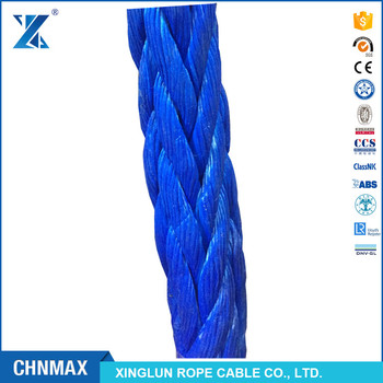 CHNMAX 40mm UHMWPE mooring rope/towing rope for ship
