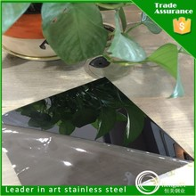 China product colored mirror stainless steel stainless steel plate for razor blade for wall