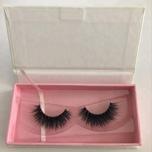 Private Label eyelash box Wholesale strip eyelashes Mink Lashes