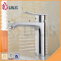 Best Selling single lever copper hot and cold water basin faucet mixer