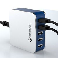 5 usb ac adapter,supercharging,5v8a 5 usb ac wall chargers