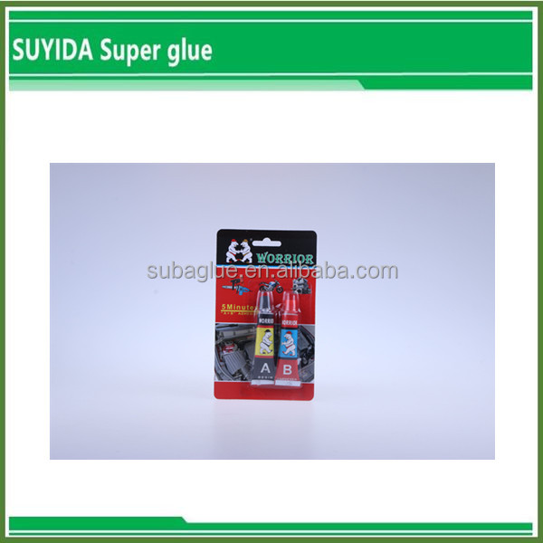 China Factory Supplier Dry Crystal Clear AB Glue Epoxy Resin acrylic adhesive glue
