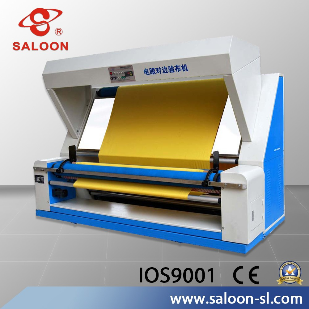 Heavy fabric Jean Cloth fabric perching rolling machine/Inspection Machine/fabric inspection and rolling machine