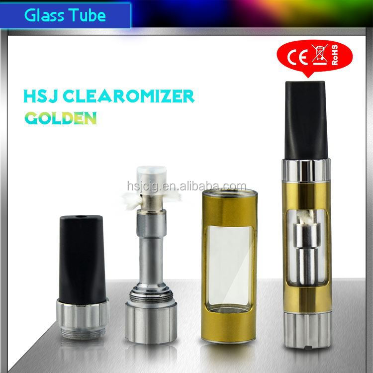 hsj electronic cigarette clearomizer 808d-1 battery no leak 1473 510 thread