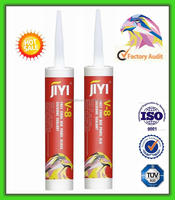 Commercial grade silicone glass sealant for laminated tempered bulletproof window glass