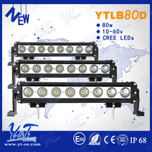 Newest version modular design hotselling off road c.r.e.e led light bar 12V/24V with spot flood beam