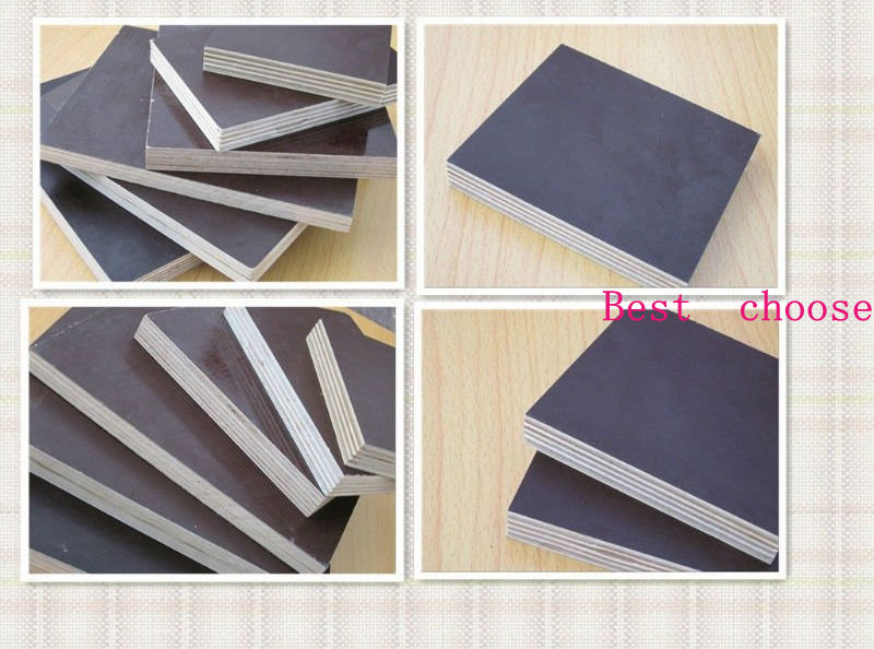 film faced plywood brown color combi core