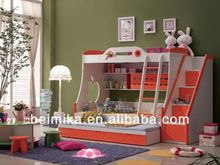 Hot Sale High Quality and pink bunk bed Children Furniture Bunk Bed for Boy/Girl 856A
