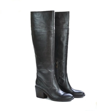 206303 Genuine leather upper over knee sexy woman thigh high boots
