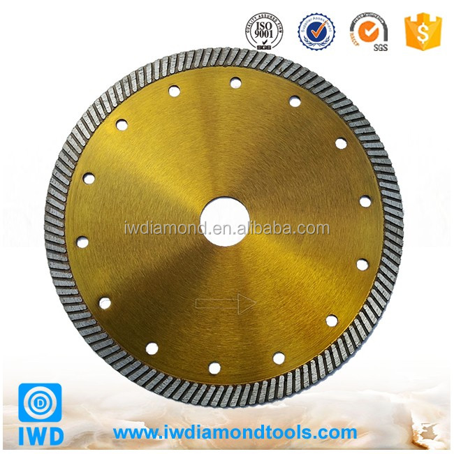 Diamond Cutting Tools Competitive Price Hot Selling Thin Continuous Rim Tile Diamond Cutting Blades in Cut Grinder