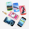 blank mobile phone case with silicon covers for sublimation printing apply to samsung S3