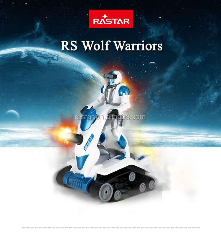 Rastar kids toy fighting and demo electric rc robot car