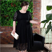 New arrival fashion xxxl party dresses for fat girls lace eveing dresses
