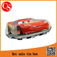 Christmas Car Shape Packaging Tin Box