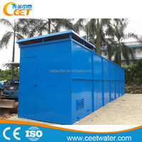 Containerized MBR Industrial Sewage Waste Water Treatment Equipment / MBR Ceet