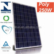 Hot sale !!! CE AND TUV APPROVED 250 watt solar panels