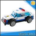 157 PCS preschool educational toys building bricks police car toy set